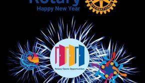 Rotary nuevo año